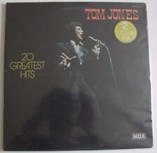 TOM JONES - 20 Greatest Hits - 2LP - Gatefold - Decca - 278.531 - France
