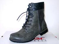 RIEKER STIEFELETTEN STIEFEL Boots Damenschuhe grau Gr.37 42