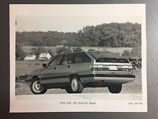 1989 Audi 200 Quatro Wagon B&W Press Photo, Foto RARE!! Awesome L@@K
