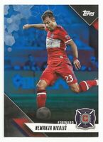 2019 Topps MLS Soccer NEMANJA NIKOLIC Blue Parallel #d 69/99 CHICAGO FIRE