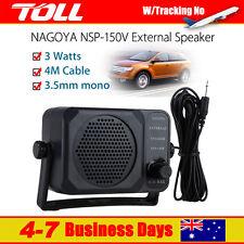 Nagoya NSP 150V External SPEAKER For Ham CB Communication 2 way Radio Amplifier