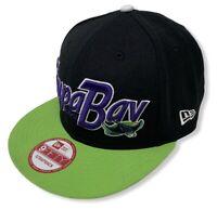 Tampa Bay Devil Rays Men's New Era 9FIFTY MLB Pull It Strapback Hat Cap