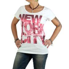 Camisas y tops de mujer de color principal blanco 100% algodón talla S