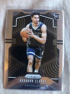 19-20 Panini Prizm RC Brandon Clarke #266 Rookie Card Memphis Grizzlies