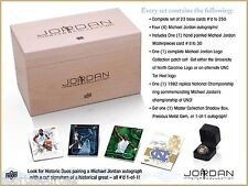 2013 Upper Deck Michael Jordan Master Collection Hobby Sealed Set 4 Auto Signed
