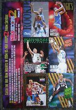 1994-95 Skybox NBA Hoops 2 Uncut Sample Sheet of 6-Cards with Jason Kidd Rookie!