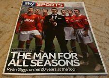 SKY SPORTS Magazine Ryan Giggs Manchester United Feb/March 2011