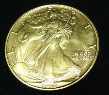 USA Amerika Silver Eagle LIBERTY 1992 1 Dollar  1 oz Silber 999/1000 (2)