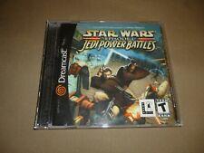 Star Wars: Episode I: Jedi Power Battles (Sega Dreamcast, 2000) Excellent Disc