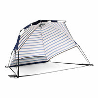 SlumberTrek 3049318VMI Adventure 2 Portable Pop Up Outdoor Beach Shelter Tent