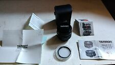 Tamron 24mm f/2.5 Adaptall 2 Wide Angle Lens Canon FD w/ Manual + Warranty Card