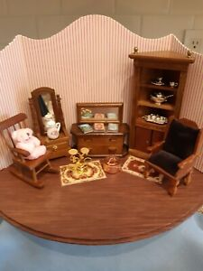 Dollhouse 1:12 Mixed Lot Furniture & Accessories