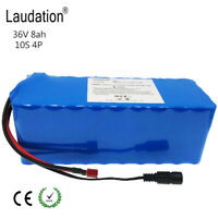 laudation 36V 8ah Battery 18650 Rechargeable battery for 500W E Bike Electric