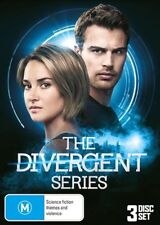 The DIVERGENT Series Trilogy - 1 / 2: Insurgent/ 3: Allegiant : NEW DVD