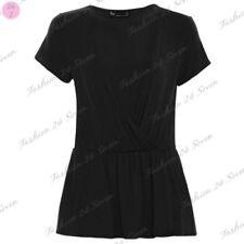 Maglie e camicie da donna Blusa viscosa nera