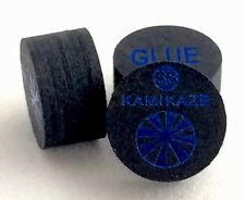 Kamikaze Black Layered Cue Tips  14 MM (SUPER SOFT) (5 Tips)  Fast Shipping....