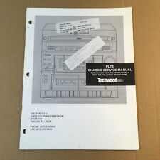 Techwood Chassis Service Manual for Model PL73