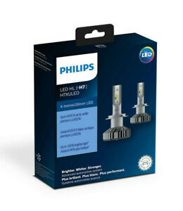 H7XULED Philips Ultinon LED - Pack of 2 H7 Headlights 140% Brighter 11972XUX2