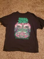 Morbid Angel Domination Shirt XL Deicide Obituary