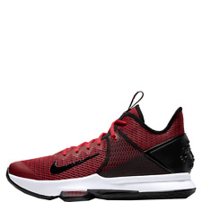 Nike Lebron Witness IV Men's Red James Basketball Shoes Sneakers BV7427-002