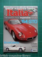 Auto Italia 2010 #169 - Buyers Guide: Lancia Delta HPE - 1964 Ferrari GTO