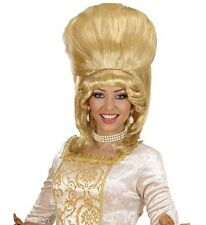 Ladies Baroness Madam Bovary Blonde Wig Tall Panto Dame Burlesque Fancy Dress