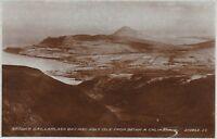View Over Holy Isle & Lamlash from Beinn A Chliabhain, BRODICK, Isle Of Arran RP