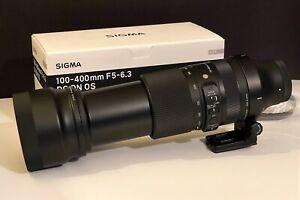 Sigma 100-400mm F/5-6.3 DG DN OS Contemporary Lens for Sony E