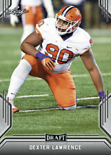 100) DEXTER LAWRENCE New York Giants / CLEMSON TIGERS 2019 Leaf DRAFT LOT