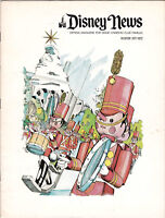 Disney News Magic Kingdom Club Magazine Winter 1971 1972 Disneyland 16 pages