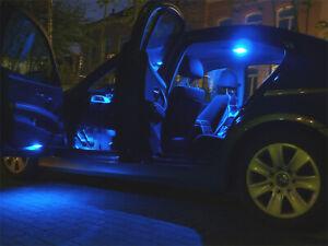 Innenraumbeleuchtung Mercedes E Klasse W212 Innenbeleuchtung 12x blaue Lampen