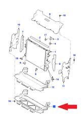 Genuine JAGUAR F-Type Radiator Lower Shield T2R17061