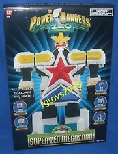 Power Rangers Deluxe SUPER ZEO MEGAZORD New Factory Sealed 1995