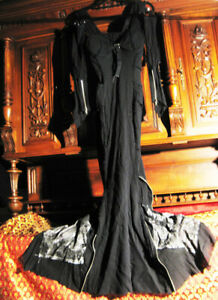 Lip Service Fishtail Kleid Ball Gown gothic Victorian mortisha vintage SteamPUnK