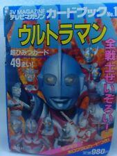 Ultraman Tv Magazine Postcard Book