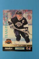 1992-93 Team Pinnacle Wayne Gretzky/Eric Lindros Card #5 of 6