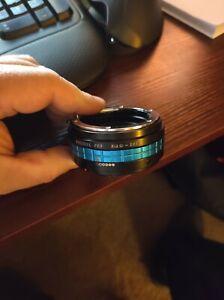 Fotodiox PRO Lens Adapter Nikon G Lens to Canon EOS M Cameras