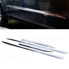 4* Chrome Door Body Side Molding Line Cover Trim fit 2014-18 Jeep Grand Cherokee