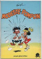 FRANQUIN. Modeste et Pompon. Glénat 1975. Broché.