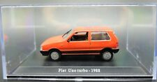 MODELLINO AUTO FIAT UNO TURBO SCALA 1:43 DIECAST CAR MODEL MINIATURE NOREV RARE