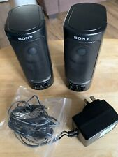 Sony Stereo Active Speaker System. SRS-58
