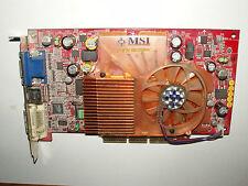 MSI NVIDIA Geforce4 Ti 4200, Ti4200-VTD8X, 128 MB DDR, AGP, DVI-I, VGA, S-Video