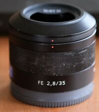 Sony Sonnar 35mm f/2.8 ZA Wide Angle Lens