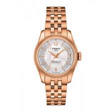 *BRAND NEW* Tissot Women's POWERMATIC MOP Dial Rose Gold Watch T1082083311700