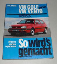 Reparaturanleitung VW Golf III / 3 Diesel + Turbodiesel, Baujahre 1991 - 1997