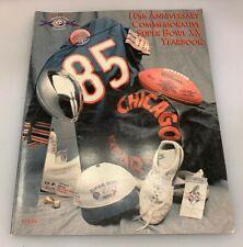 Chicago Bears Super Bowl XX 10th Anniversary Commemorative Yearbook
