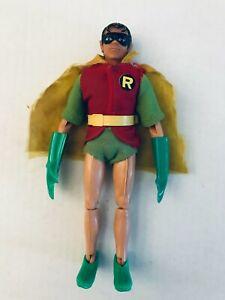 "ORIGINAL & 100% COMPLETE 1970's Mego DC 8"" Action Figure Robin WOW!"