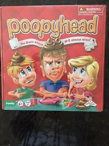 NEW SEALED Identity Games Poopyhead Card Game 2015