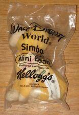 2001 Disney Mini Beans Kellogg's Cereal Premium Toys - Simba - Lion King