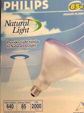 Lot of 12 PHILIPS 85 WATT REFLECTOR BR40 NATURAL LIGHT-NEW!